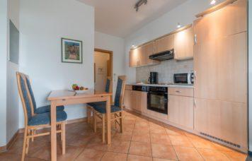 Küche Zweiraum-Apartment Big