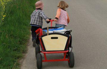 Tannenpark-aussen-Bollerwagen