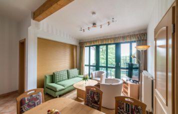 Wohn-Essbereich Dreiraum-Apartment 2